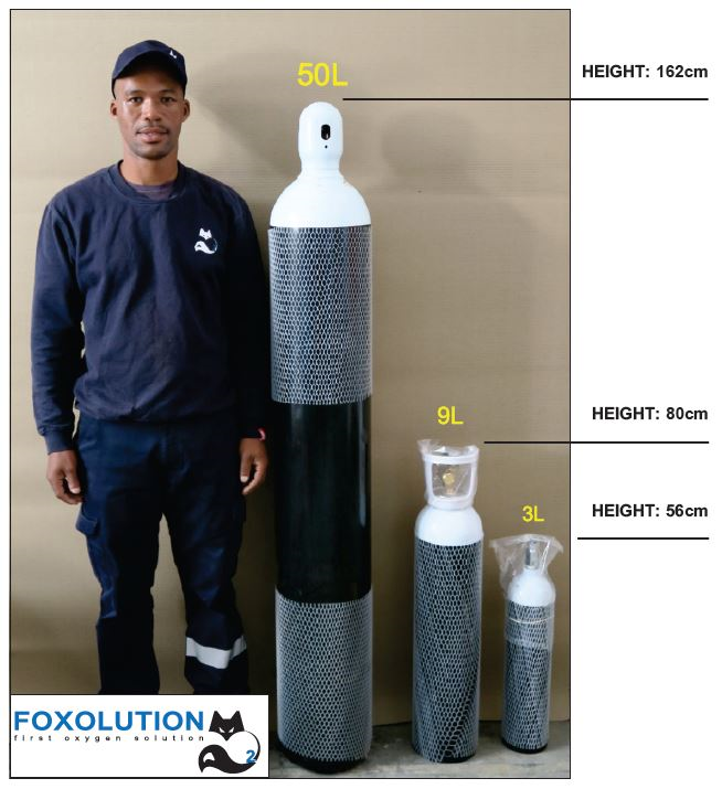 Common Cylinder Sizes - Foxolution Systems Engineering CC